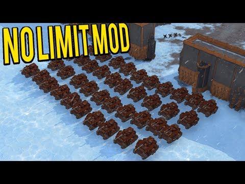 UNLIMITED UNITS! - Dawn Of War 3 No Limit Mod