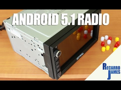 New Android 5.1 Car Radio from Joying | What's in the box?