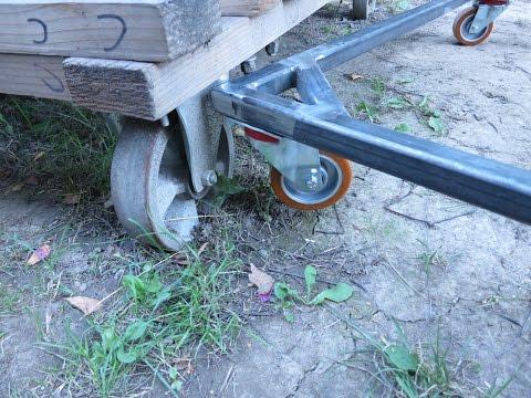 making metal trolley