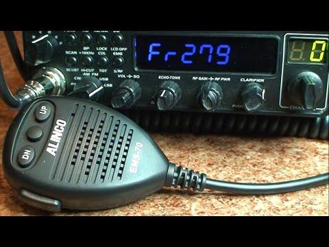 Tuning & Repair CB Radio SSB President Jackson & Alinco DR 135 DX # 1