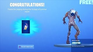 *FREE* Fortnite Smoothie Back Bling..! (Destroy Grills with the Low n Slow Harvesting Tool)