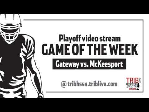 WPIAL Football Class 5-A Semifinals - McKeesport vs Gateway