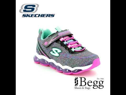 Skechers Glimmer Lights 10833 BKMT