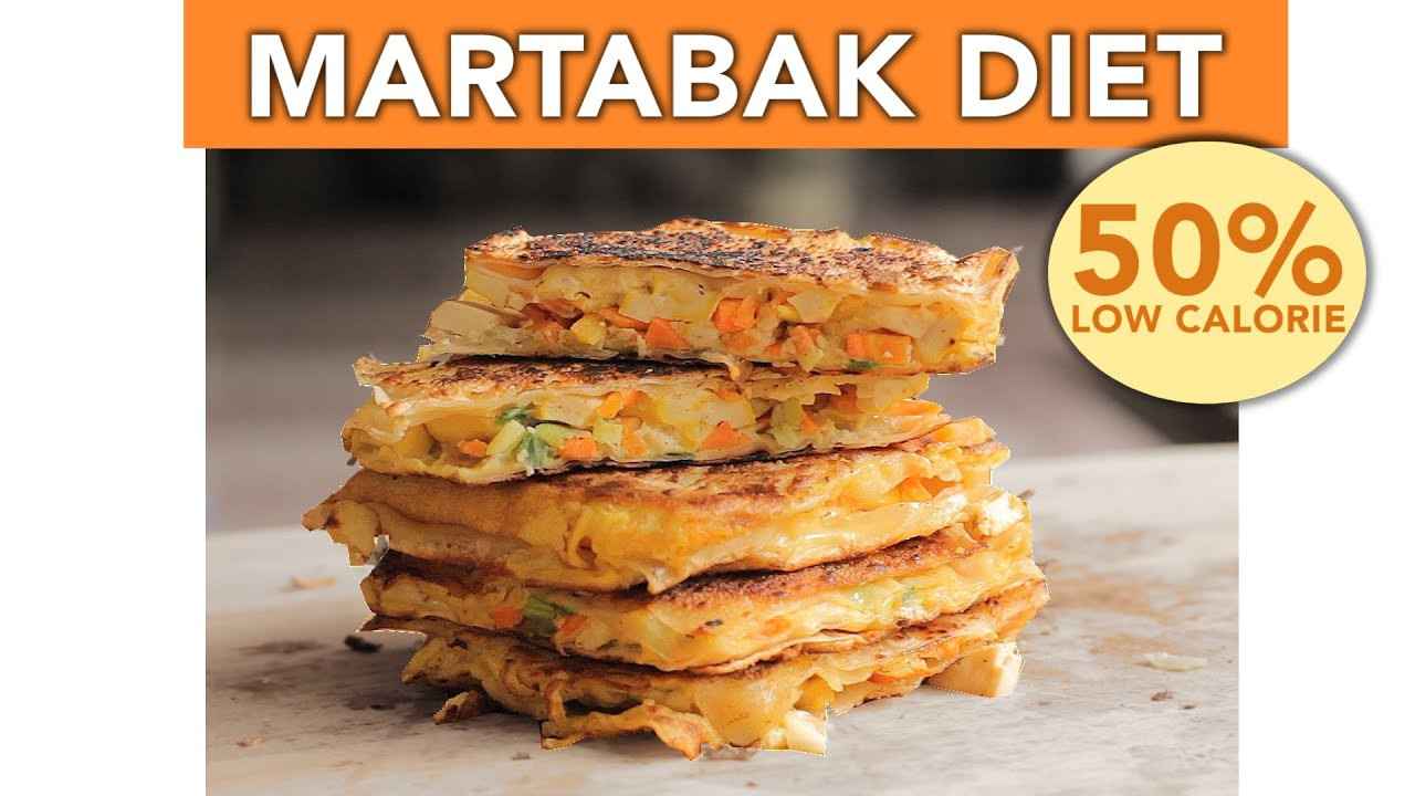 MARTABAK TELOR VERSI DIET !! - UDAH PERSIS ABANG MARTABAK YG PAKE MINYAK 1 LITER