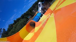 Cutback Water Coaster (4K On-Ride) Water Country USA