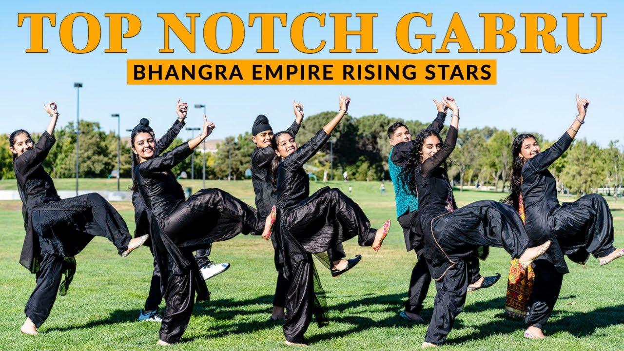 Top Notch Gabru   Bhangra Empire Rising Stars   Vicky   Kaptaan