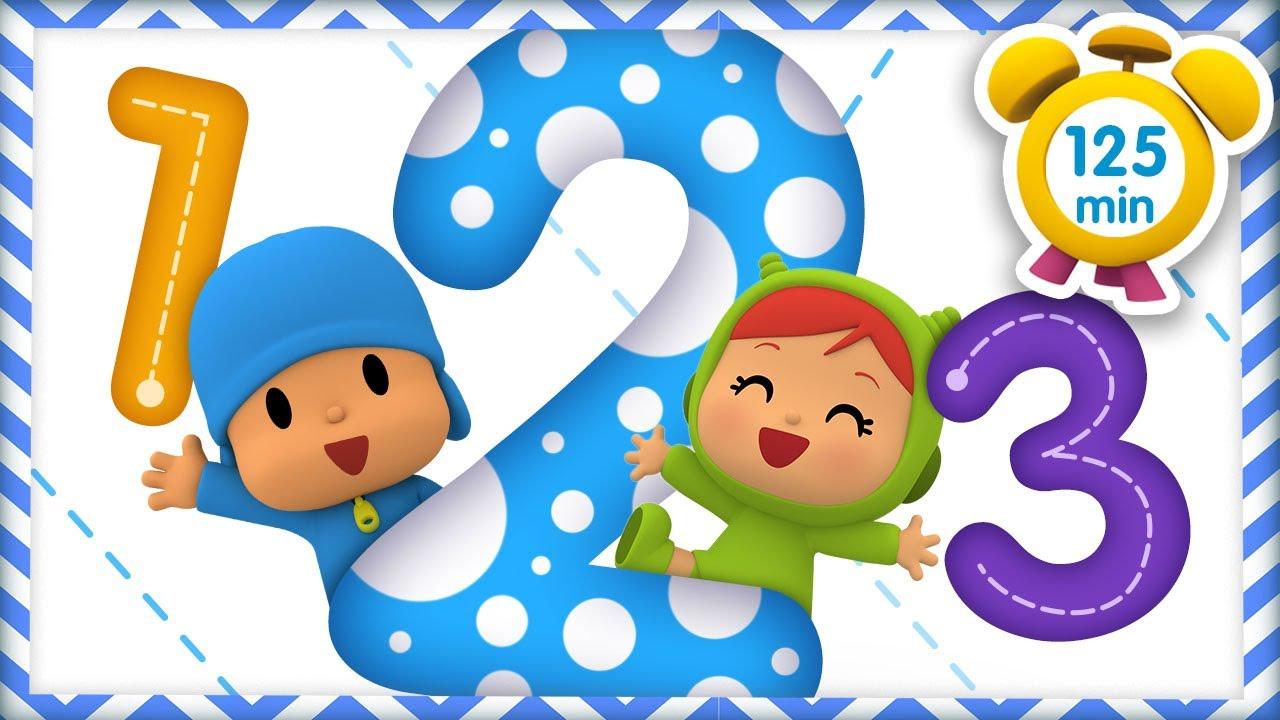 ✌ POCOYÓ en ESPAÑOL-Pocoyo 123 Aprende a contar [125 min] |CARICATURAS y DIBUJOS ANIMADOS para niños