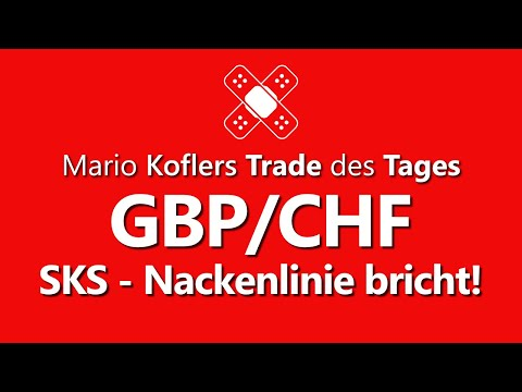 Trade Des Tages - Gutes CRV Im GBP/CHF