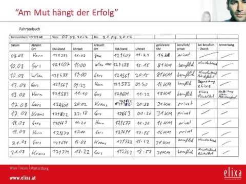 Fahrtenbuch Fuhren Und Steuern Sparen Ionos 4