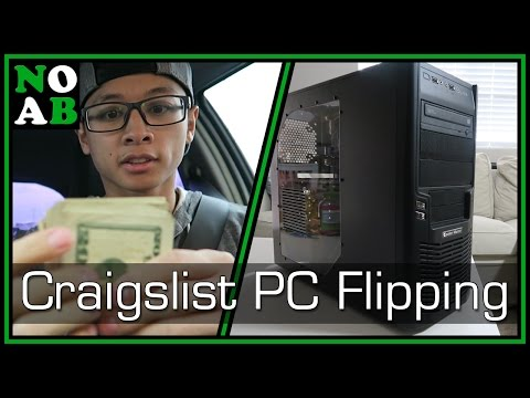 Flipping A Sub $300 Craigslist PC For Profit - The Great PC Flip-Off Of 2016
