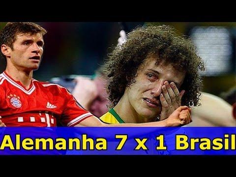 Alemanha 7 x 1 Brasil  - Paródia Coração Verde e Amarelo (tema da Copa)
