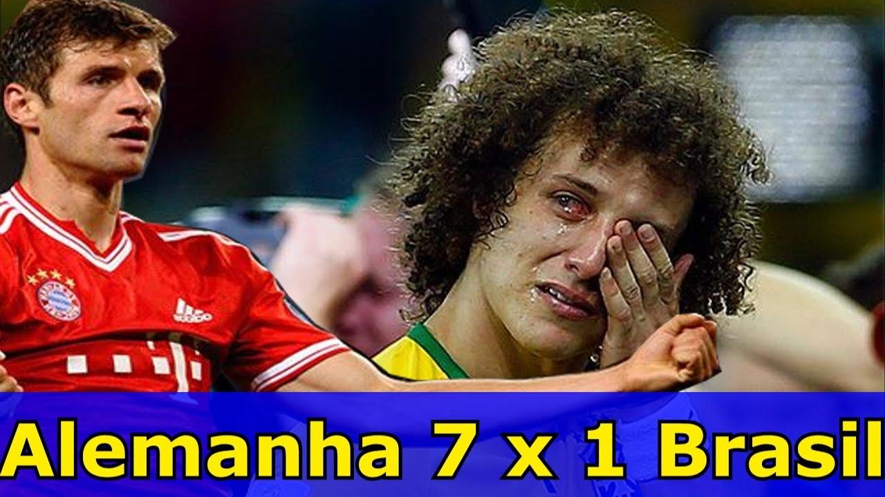 Resultado de imagem para 7x1 contra a alemanha