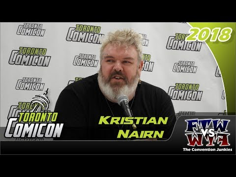 Kristian Nairn Game of Thrones Toronto ComiCon 2018 Full Panel