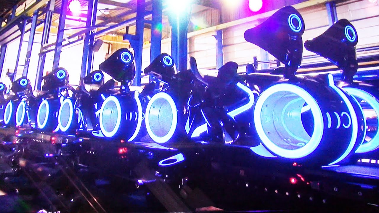 See Shanghai Disneyland's Tron Ride | Time.com