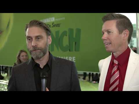 The Grinch World Premiere Interview with Scott Mosier & Yarrow Cheney - Directors Mp3