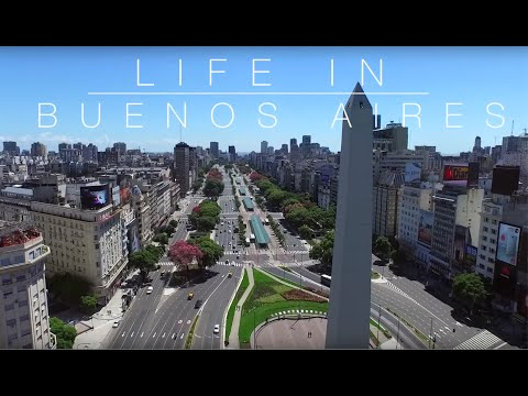 Life in Buenos Aires, Argentina | GoPro & DJI Drone