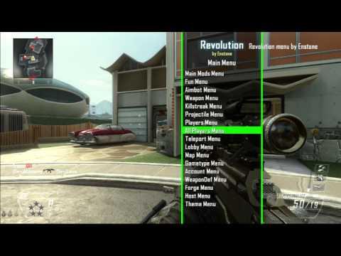 BO2 Mod Menu Revolution by Enstone