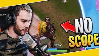 UN NOSCOPE DU FUTUR A LA CARABINE SUR FORTNITE BATTLE ROYALE !!!