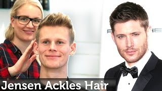Jensen Ackles Hairstyle   Short Textured Hair For Men   Professional Hairstyling by Slikhaar Studio