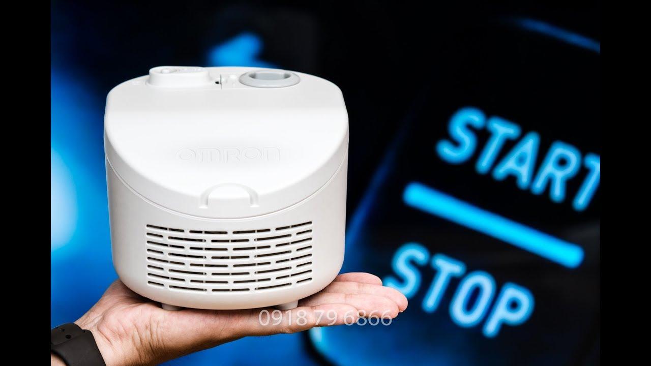 Máy xông mũi họng Omron NE- C101(compair compressor nebulizer) Cucai TV