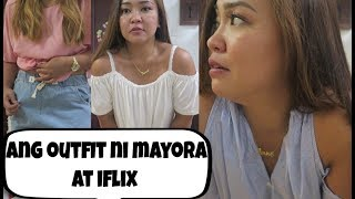 try on ng mga damit at iflix review anneclutzvlogs