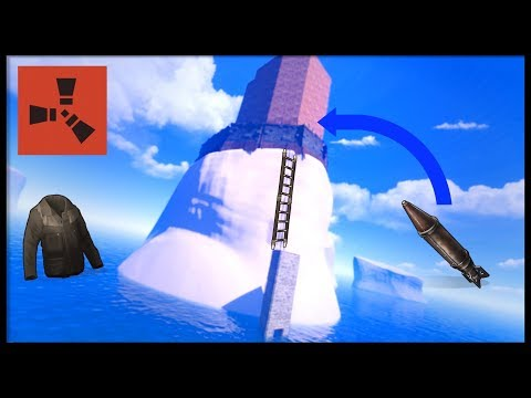 Rust Academy: HOW TO RAID ANY ICEBERG BASE IN SNOW BIOME
