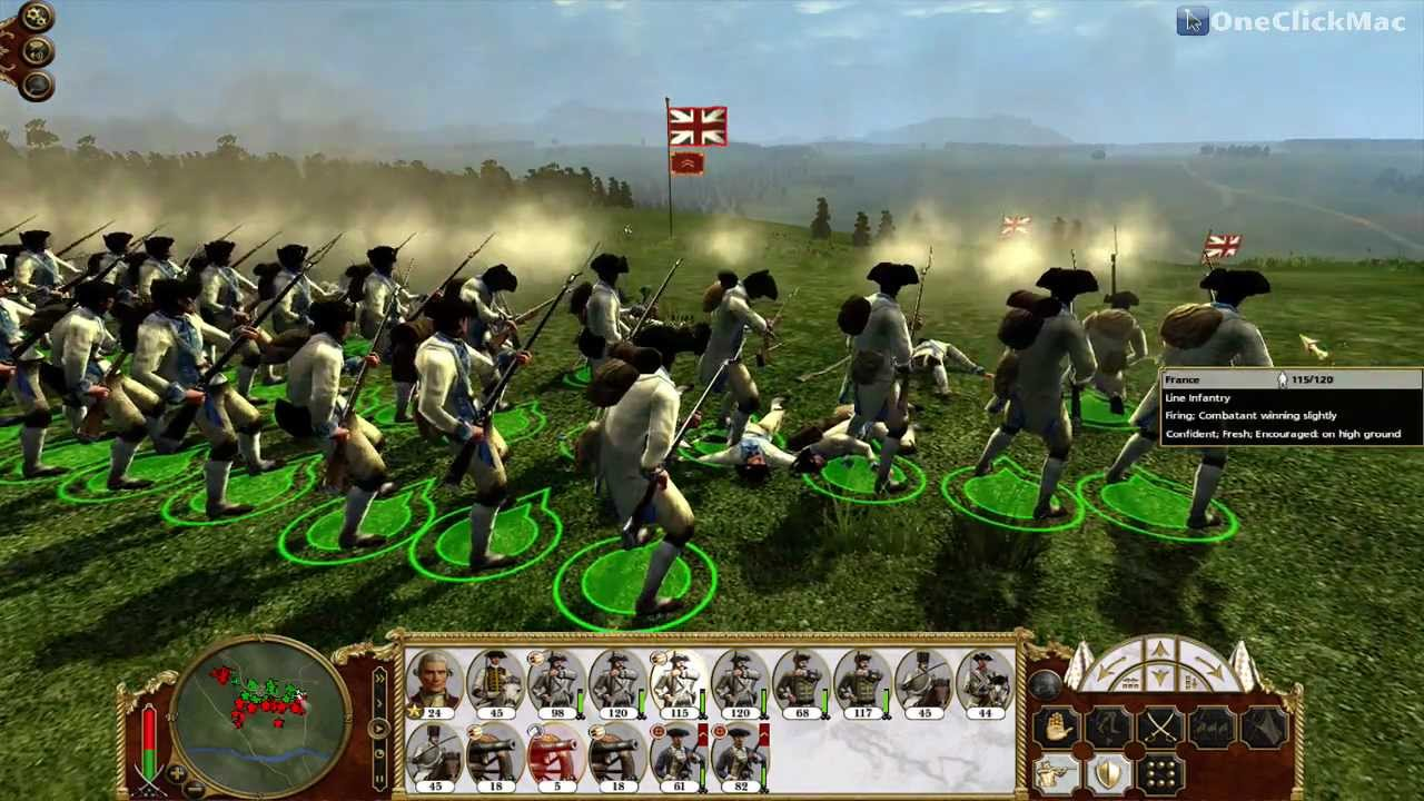Empire Total War For Mac Gameplay Oneclickmac Youtube