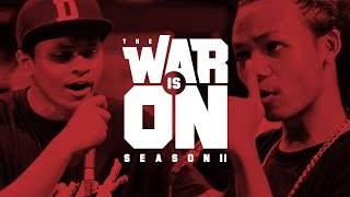 THE WAR IS ON SS.2 EP.12 - MC KING VS DARKFACE | RAP IS NOW