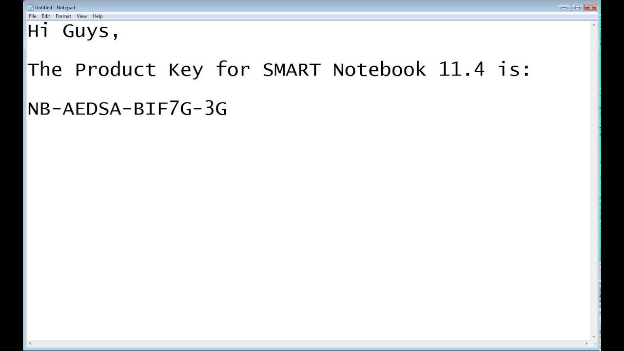 Smart Notebook 11 4 Product Key Youtube