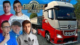 Dostałem Kicka! Szybcy i wściekli bokiem  Euro Truck Simulator MP z Ekipą #3 ㋡ [MST]