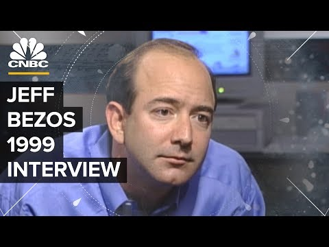 Jeff Bezos In 1999 On Amazon's Plans Before The Dotcom Crash