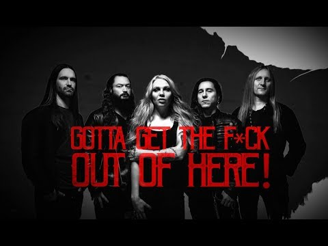 KOBRA AND THE LOTUS - Get The F*ck Out Of Here (Official Lyric Video) | Napalm Records