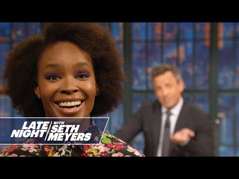 Amber Ruffin Addresses Donald Trump's Lynching Comments