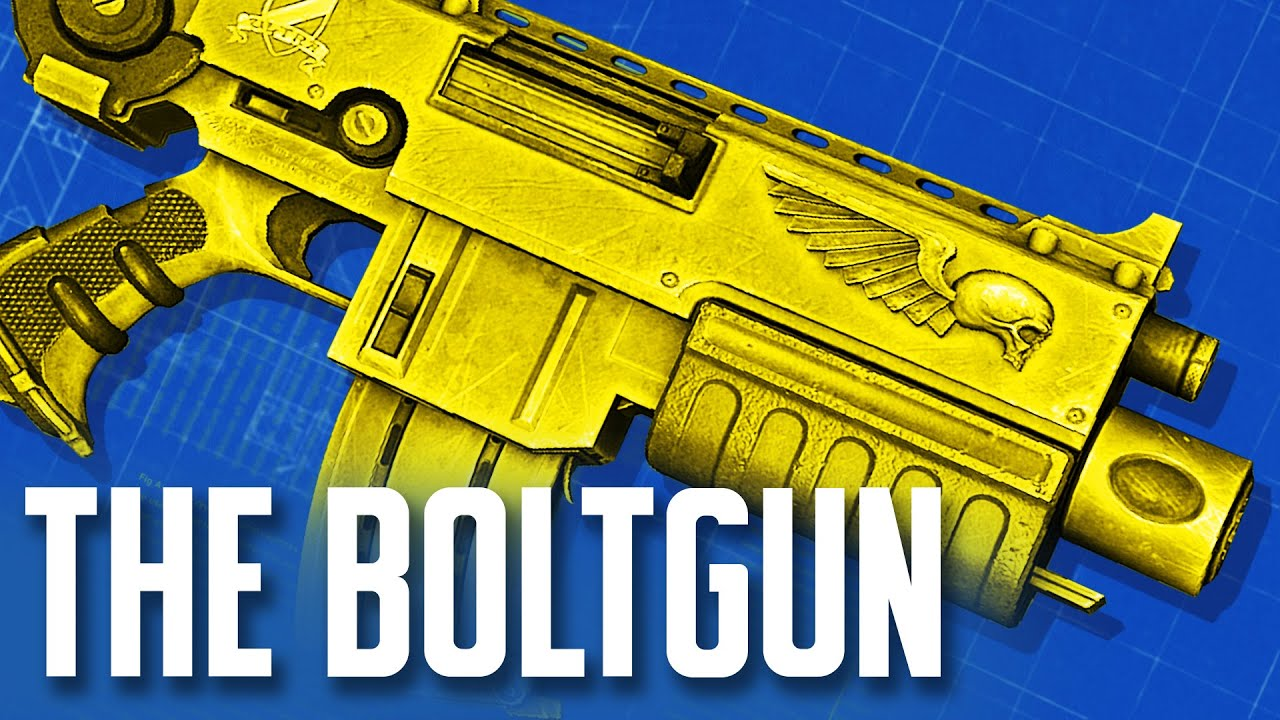 How Warhammer 40k's Iconic Bolter Was Created - Loadout