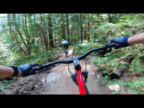 Mt Seymour BC Mountainbiking 4k