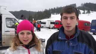 Видео отзыв Big Travel Виталий Татьяна туры в Буковель из Киева(, 2015-02-01T19:58:26.000Z)