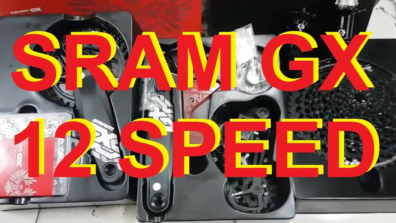 Groupset Sram Gx 12 Speed Sprocket 10 50t Crank 32t Youtube Mini Group Set 11speed Slx 46t