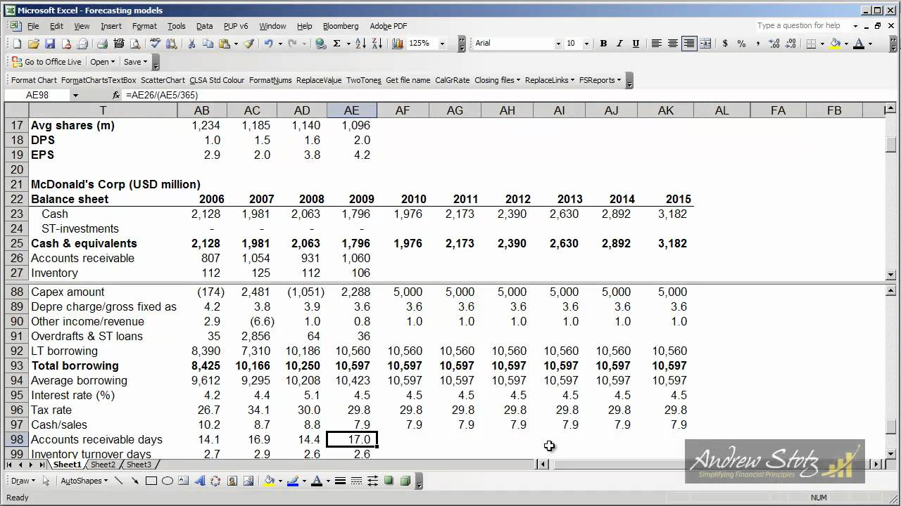 Forecasting Step 5 Forecasting balance sheet assets YouTube – How to Prepare a Balance Sheet