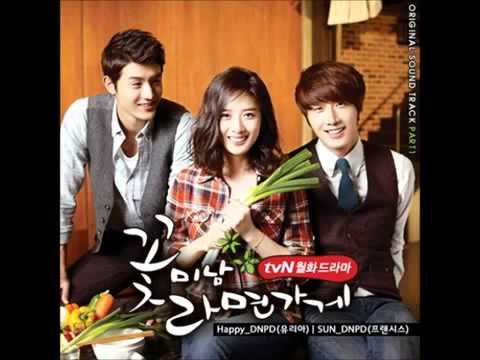 [Flower Boy Ramyun Shop OST] Happy - DNPD(Yuria)