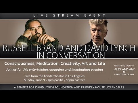 Russell Brand And David Lynch In Conversation