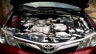 Мойка двигателя автомобиля Toyota Camry. Как помыть двигатель автомобиля своими руками.(Мойка двигателя автомобиля Тойота Камри.(до и после мойки двигателя ).How to clean an engine Toyota Camry 2011-2016., 2015-10-12T17:08:08.000Z)