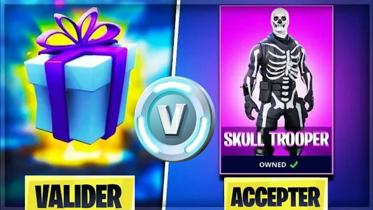 donner des v bucks skins gratuitement sur fortnite battle royale - comment donner des skins sur fortnite ps4