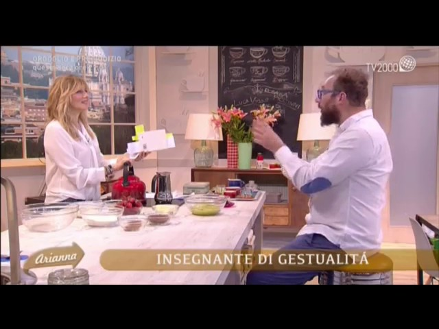 TV 2000 A CASA DI ARIANNA 5 May 2017