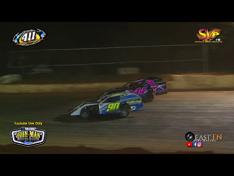 Iron Man Modified | Feature $1,200 | 411 Motor Speedway | Nov  25, 2017