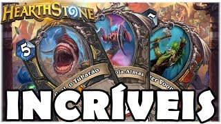 HEARTHSTONE - NOVAS CARTAS INCRÍVEIS! (O RINGUE DO RASTAKHAN)