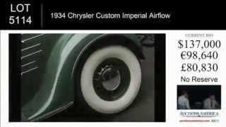 1934 Chrysler Custom Imperial Airflow