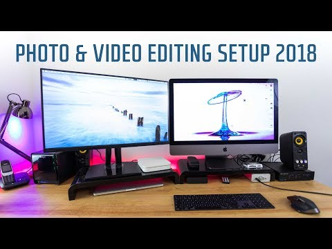 Photo and Video Editing Setup with the iMac Pro