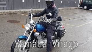 Yamaha XV 125 Virago | The new Bike | BikeFree