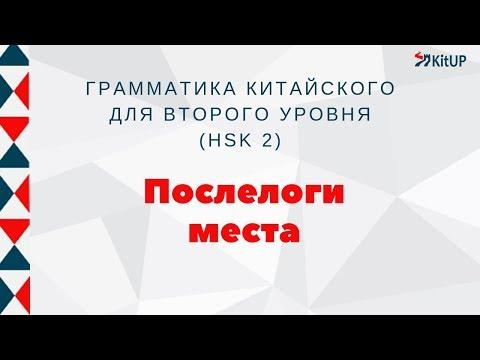 Послелоги места | ГРАММАТИКА HSK 2