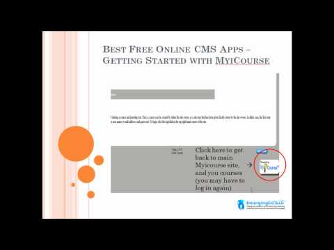 Tutorial - Creating simple courses in your own Online University with MyiCourse, for free